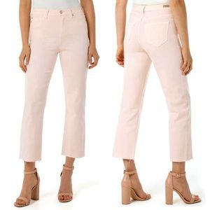 Liverpool Stevie Stovepipe Jeans High Rise Crop